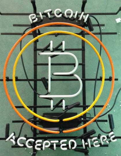 Bitcoin Neon Sign V2